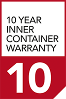 10 year inner container warranty