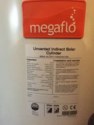 megaflo data label