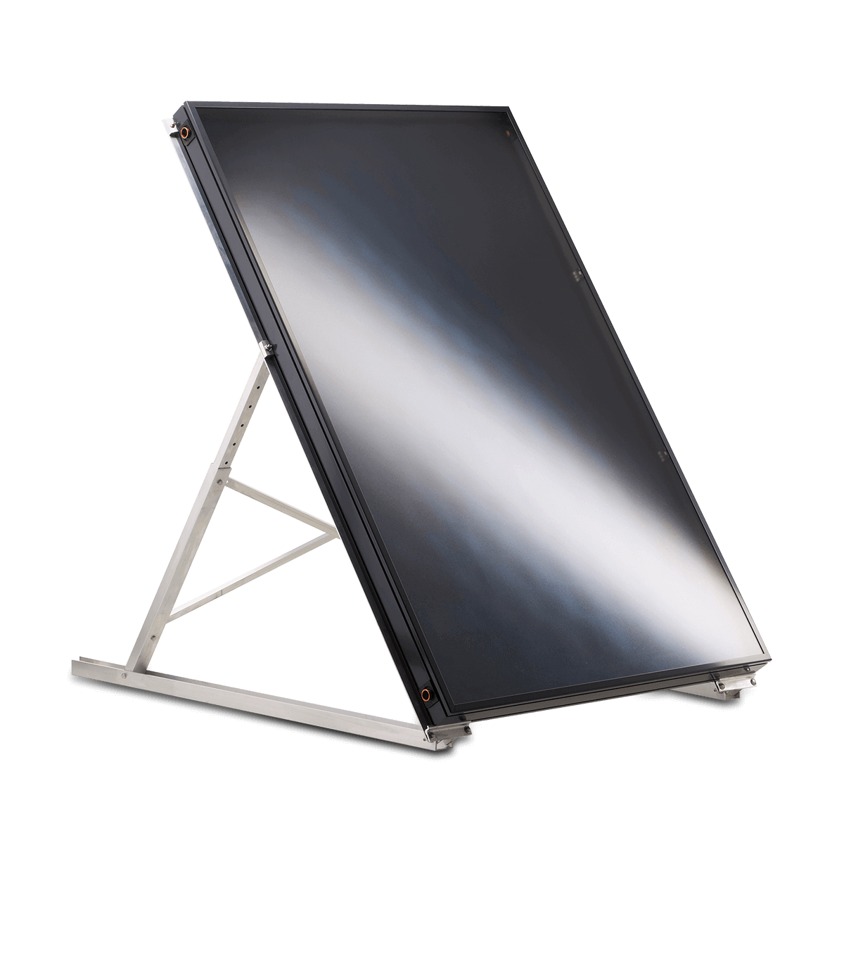 A frame Solar Collectors