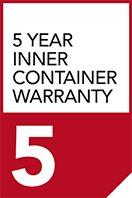 5 year inner container warranty