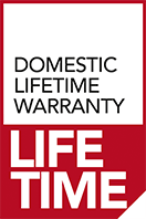 domestic lifetime warranty